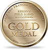 Gold Medal 2017 San Francisco Chronicle Wine Competition