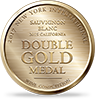 Double Gold Medal 2017 New York International Wine Competition